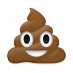 smiling pile -of-poo